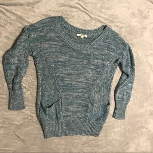 Light Blue Knit Sweater